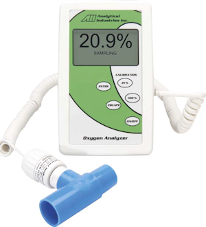 Handheld Oxygen Analyzers for Medical Gases - AII-2000