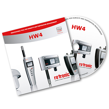 HW4 Software for Rotronic Humidity Transmitters