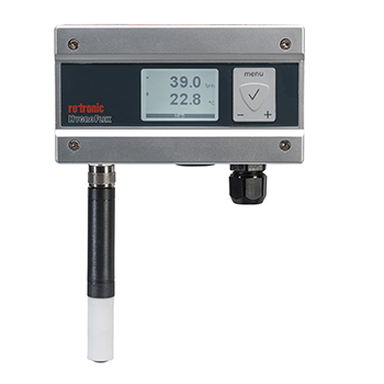 High End Humidity Transmitters - Rotronic HygroFlex HF5 and HF8