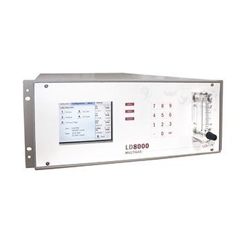 Gas Analyzer for Impurities in He and Ar - LDetek LD8000 MultiGas