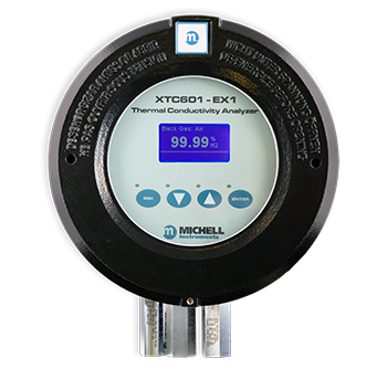 Binary Gas Analyzer for Hydrogen Monitoring - Michell XTC601